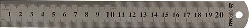 Лінійка сталева 20см BM5810-20