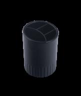 Стакан-підставка пластик, 4 відд, колір асорті 81980