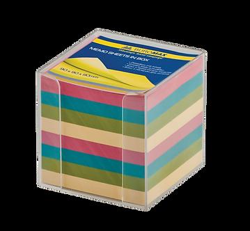 Бокс с кольоровим папером 90х90х90мм, BM.2291