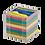 Thumbnail: Бокс с кольоровим папером 90х90х90мм, BM.2291