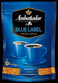 Кава розчинна Ambassador Blue Label, пакет 60г*30  am.51922
