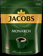 Кава розчинна Jacobs Monarch, 120г , пакет