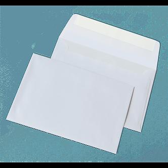 Конверт С6 (114х162мм) білий СКЛ 1040