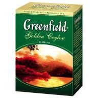 Чай Greenfield 100г в асортименті, лист