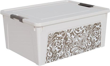 """Контейнер """"Smart Box"""" з декором Home 7,9л  al.124046"""