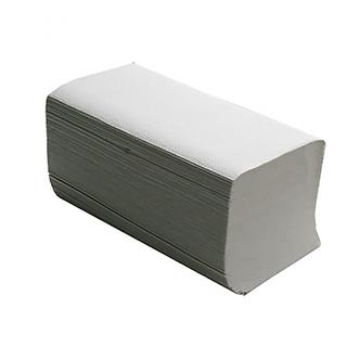 Рушники паперові макулатурні V-подібні, 200 шт, сірі  10100106