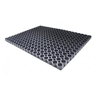 """Гумовий килимок для утримання піску і бруду """"Сота"""" 60х40х1,5"""