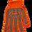 Thumbnail: Рукавички помаранчеві з ПВХ крапкою, 6 ниток, BuroClean EuroStandart  10200352
