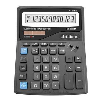 Калькулятор Brilliant BS-888М, 12 розрядів  BS-888M