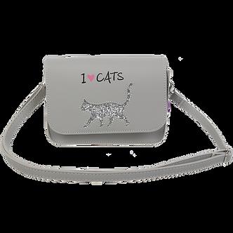 Сумка на плече маленька CAT LOVER, 19x15x6,5 см,  ZB.702402