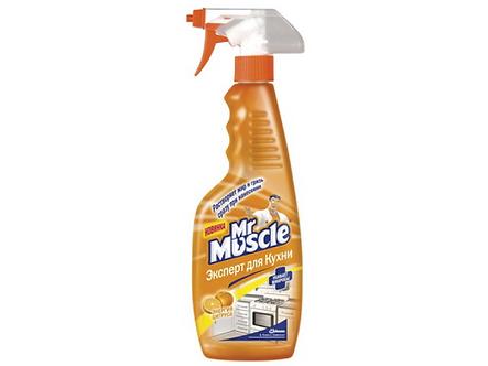 """Засіб для миття кухні """"Містер Мускул"""" з розпилювачем, 500 мл w02690"""