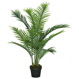 Пальма Арека, 11 гілок, чорний горщик, 112 см 822-11