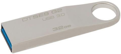 Флеш-пам'ять метал. Kingston DataTraveler (Silver) 32GB DTSE9H/32GB