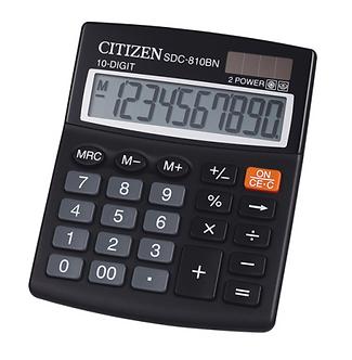 Калькулятор Citizen SDC-810BII, 10 розрядів  SDC-810B