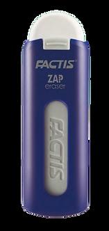 Гумка ZAP в пластиковому футлярі, колір асорті   fc.PTF1130