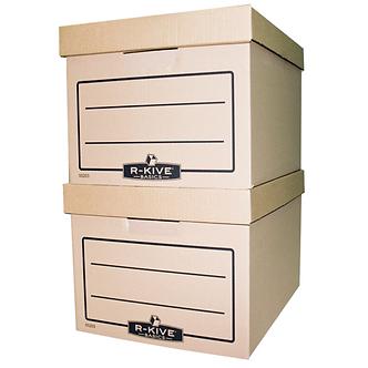 Короб для архівних боксів R-Kive Basics, крафт, 340х275х450 мм  f.20303