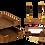 Thumbnail: Набір настільний з натурального дерева, 6 предметів, горіх, черв.дерево 6280