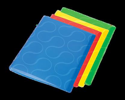 Папка з 20 файлами А4, OMEGA, PP,  0410-0032