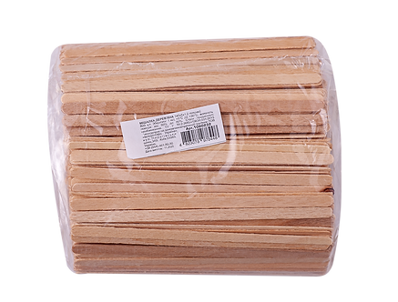 Мішалка 14 см, 800шт/уп, дерев'яна, одноразова  1080232