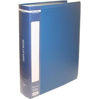 Папка пластикова з 100 файлами А4 (у чохлі),  BM.3633