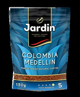 "Кава розчинна JARDIN ""Colombia Medellin"" 130г, економ упаковка сублім. jr.109271"