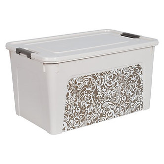 """Контейнер """"Smart Box"""" з декором Home 27л   al.124058"""