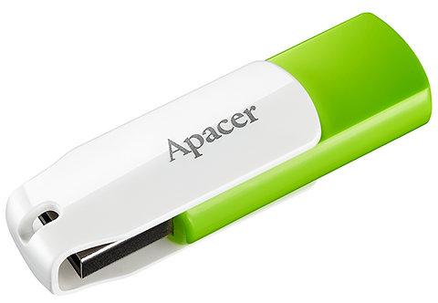 Флеш-пам'ять Apacer AH335 32GB Green/White  6360084