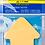 Thumbnail: Блок паперу для нотаток фігурний, 50 аркушів, асорті, неон