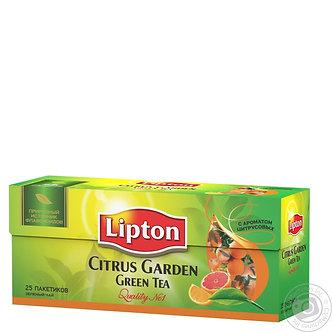 Чай Lipton 25х2г, в асортименті, пакет