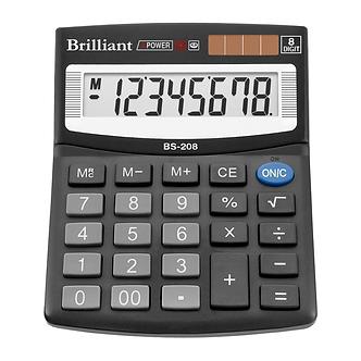 Калькулятор Brilliant BS-208, 8 розрядів