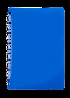 Зошит для нотаток GLOSS, А5 80 арк., клітинка, пластик.обкл, BM.24552151