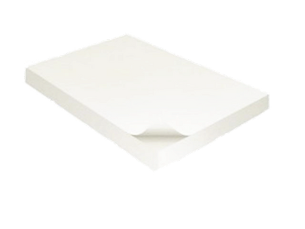 Блок білого паперу для нотаток152 х 102, 170 аркушів