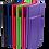 Thumbnail: Блокнот діловий STRONG LOGO2U 95x140мм, 80арк., клітинка BM.29012101