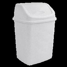 Контейнер для мусора с качающейся крышкой, 18 л., 28х22,5х44