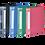 Thumbnail: Папка пластикова зі швидкозшивачем, та карманом. A4,  BM.3407