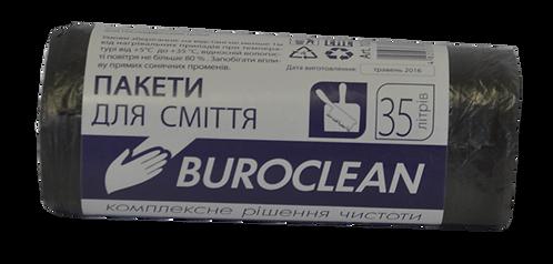 Пакети для сміття 35л/30шт, чорний