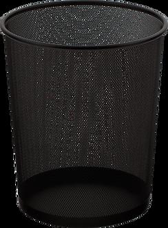 Корзина для паперів кругла, металева, BM.6270