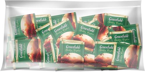 Чай чорний 2г*100*12, пакет, ХоРеКа, GREENFIELD Артикул: gf.1064