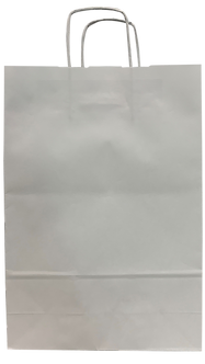 """Пакет з ручками """"Ecobag"""", 240*100*360, білий  10611040000"""