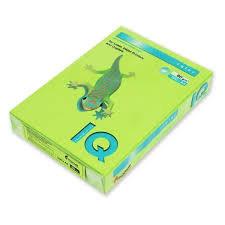 Бумага цветная интенсив А4, 500листов, зелений A4.80.IQI.LG46.500