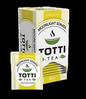 Чай трав'яний TOTTI Tea «Місячна Соната», пакетований, 1,5г*25*32 tt.51506