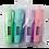 Thumbnail: Набір з 4-х текст-маркерів Pastel з гум. вставками  BM.8905-94