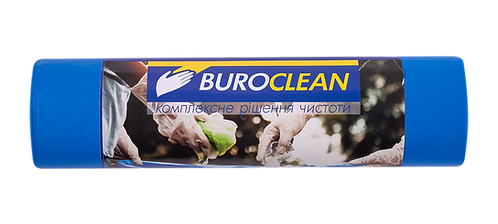 Пакети для сміття 240л/10 шт, міцні, 900х1300мм, 35мк BuroClean EuroStandart