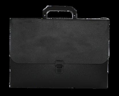 Портфель A4/35мм, JOBMAX, чорний BM.3735-01