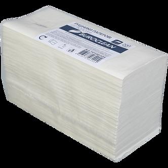 Рушники паперові целюлозні V-подібні, 200 шт, 2-х шарові, білі  10100105