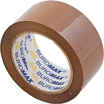 Клейка стрічка пакувальна 48мм x 90м х 45мкм, коричневий BM7025-01