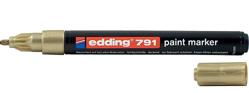 Маркер Edding Paint e-791 1-2 мм круглий колір ассорті