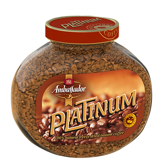 Кава розчинна Ambassador Platinum, ск.б. 95г*12  аm.51172