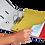 Thumbnail: Індекс-розділювач A4, 100 шт., картон, асорті 8610001S-99