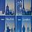 "Thumbnail: Книга канцелярська ""Столиці світу"" 80л.кл.оф.лам.обк, А4, BM.2300"